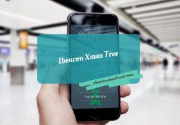 Ibeacon Xmas Tree
