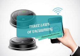 Three Laws of Vacuuming
